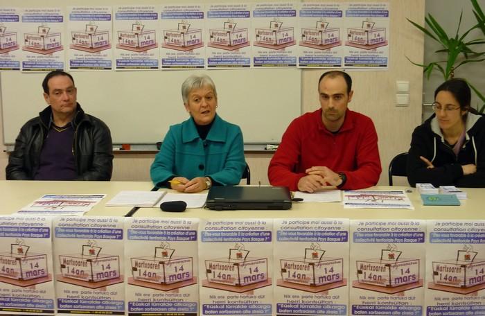 Jacques Sarraillet, Léonie Agergarai, Gilen Iriart eta Argitxu Camus.